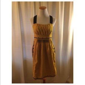 Floreat Anthropologie Dress Cotton Pockets 2/4
